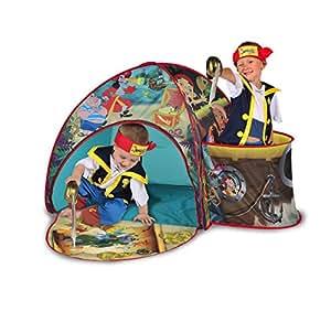 Jake et les Pirates du Pays Imaginaire –Tente de Jeu ave Nid de Pie (Import Royaume-Uni)