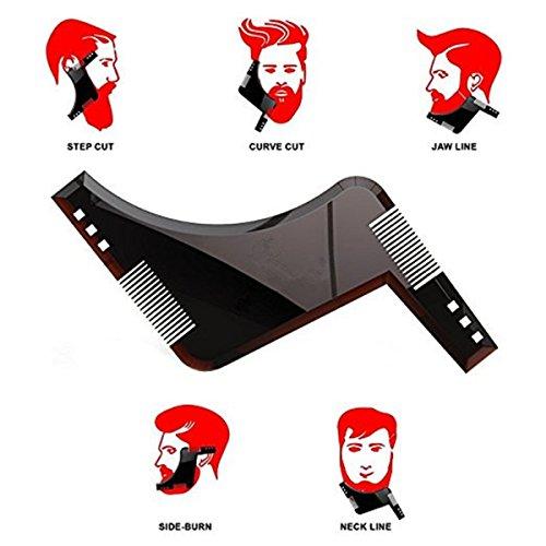 Kamm - Bart - Schnurrbart - Rasur - Perfekt - Mann - Ende - Zeichnung - Modellieren - Plotter - Gliederung - Stil