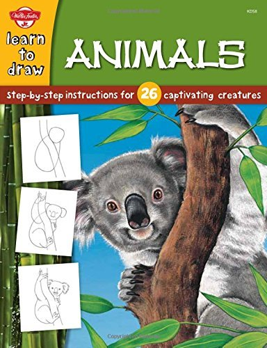 Animals: Step-by-step instructions for 26 captivating creatures (Learn to Draw) by Diana Fisher (Illustrator) (2005-01-01)