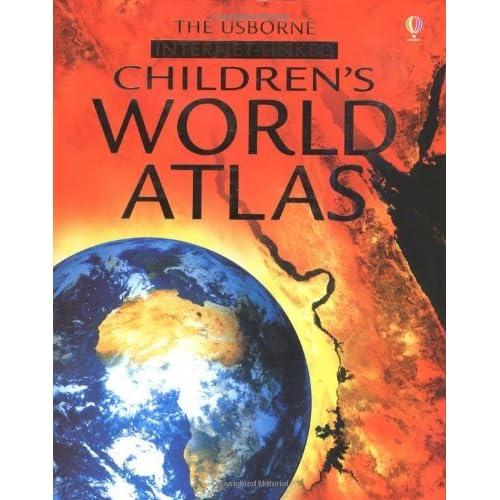 Childrens World Atlas Internet Linked by Stephanie Tunnbull (December 01,2002)