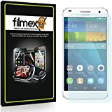 3 x Filmex Protector de Pantalla para Huawei Ascend G7 - Transparente, Japón PET de primera calidad, Kit de instalación, Garantía permanente