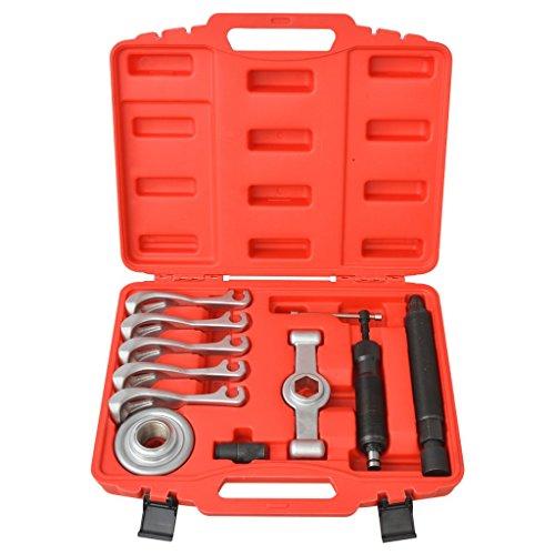 vidaXL Jeu d'extracteurs d'engrenage outils hydraulique 11 pcs Acierpas cher