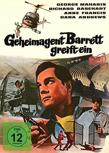 Geheimagent Barrett greift ein - Mediabook - Cover B - Phantastische Filmklassiker Ausgabe 4 (+ DVD) [Blu-ray]