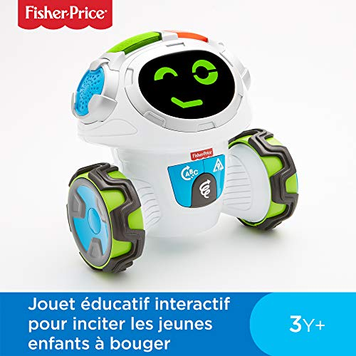 Fisher-Price Mouvi le Robot Interactif, Jouet Enfant Sons et...