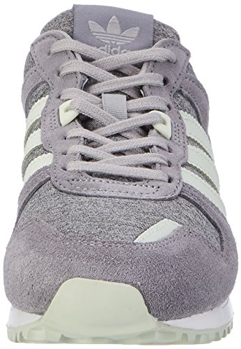 adidas Zx 700, Sneaker Bas du Cou Femme Gris (Medium Grey Heather/linen Green/grey)