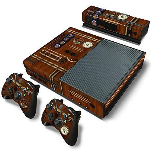 46 North Design pieno sticker della pelle skin Old Time Machine Clock per le console Xbox One x 1 e controller x 2