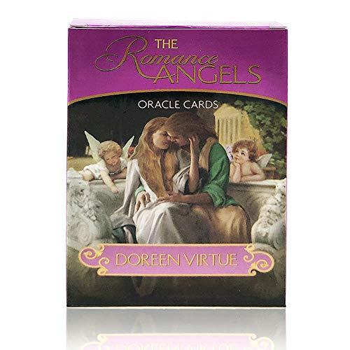 Politice 44 Neue Vergoldete Serie Romantische Orakelkarten, Liebesengelkarte, Gottkarte, Vergriffene Seltene Sammlung (mit Anleitung)