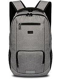 Preisvergleich für SSK Ffion College Laptop Tasche Nylon Business Männer Student Reise Freizeit Grau