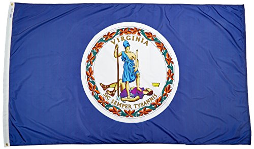 Annin flagmakers Virginia State Flagge, 5 by 8' -