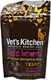 Vet's Kitchen Little Hearts Crunchy Chicken and Duck 60 g (Pack of 4)