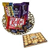 Chocolate Gift Pack With 24 Pcs Ferrero Rocher