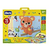 Chicco 00007945000000XXL Forest Animals Play mat, Multi-Colour