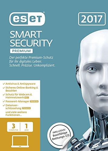 ESET Smart Security Premium 2017 Edition 3 User (FFP)