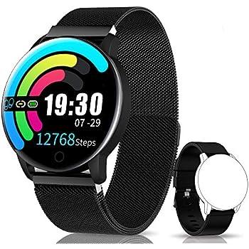 NAIXUES Smartwatch, Reloj Inteligente IP67 con Presión Arterial ...