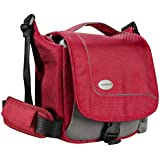 Mantona SportsBag SLR sac appareil photo pour Bridge / Camcorder / Micro SLR / appareil photo SLR / Actioncam, couleur rouge