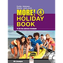 MORE! Holiday Book 4, mit 1 Audio-CD