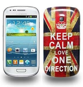 keep calm love one direction design hard skin back case. Black Bedroom Furniture Sets. Home Design Ideas