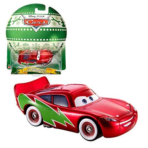 Weihnachten Modelle Auswahl | Disney Cars | Cast 1:55 Fahrzeuge | Mattel Autos, Typ:Flash Lightning McQueen (Cars Disneys Outfits)