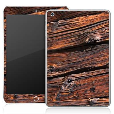 Apple iPad Mini Aufkleber Schutz Folie Design Sticker Skin Verwitterte Holzplanken Holz Look Holzboden