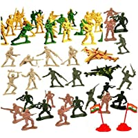 Mallexo Army Soldiers Set And Police Toys (Multicolor)