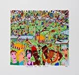 James Rizzi Wings On My Feet 2D Poster Kunstdruck Farblithographie