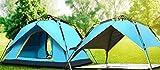 Xmaker Tenda Esterna Completa Di Pesca Automatica, Campeggio, Antipioggia, Antivento, Antizanzare, Tendostruttura, Blu