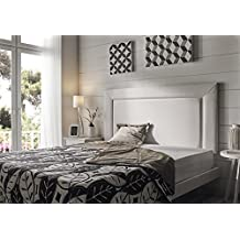 Living Sofa CABECERO Marco Grande Elegant Royalty Luxury DE Alta Gama TAPIZADO EN Micro Piel Color