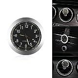 Auto Uhr Auto Armaturenbrett Kleine Runde Analog Quarzuhr Stick-On Uhr Auto Ornamente Zubehör