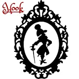 Disney Villain Schurke Silhouette Halloween Gothic Sticker Aufkleber Hook Wall Window Home Haunted Haus Vinyl Abziehbild Decal
