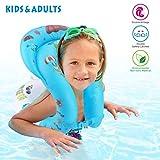 Idefair Anello di Nuoto Gonfiabile Anello Galleggiante Anello di galleggiamento Giacca Galleggiante per Bambini Adulti Bambini Nuoto Apprendimento Spiaggia Piscina Giocattoli da Piscina S M L (M)