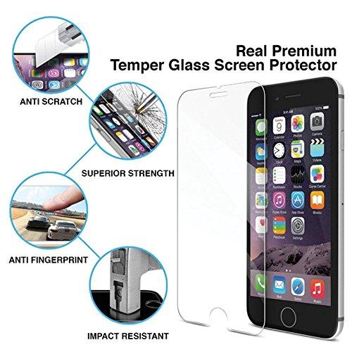 Pnizun - TOP 9H Gehaerteglas Schutzfolie für Das iPhone XR XS Max 8 X 10 4 4S 5 5S 5c SE 6 6S 7 und 6.1