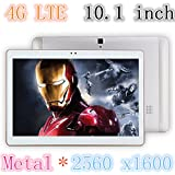 2016 Newest DHL Metal Tablet PC 10.1 inch 3G 4G LTE Octa Core Phablet Android 6.0 4GB RAM 64GB ROM 2560*1600 Bluetooth GPS