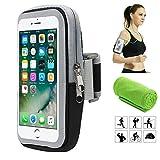 Brassard de Sport, Smartphone Bracelet Poignet pour iPhone X XS Plus 8 7 6 6s 5 5C 5S Se Samsung Galaxy S9 S8 S7 S6 A5 A3 J5 J3...