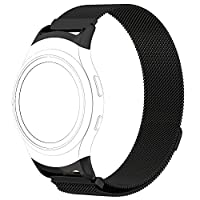 ‏‪Magnetic Mesh Loop Milanese Stainless Steel Bracelet Strap For Samsung Gear S2‬‏