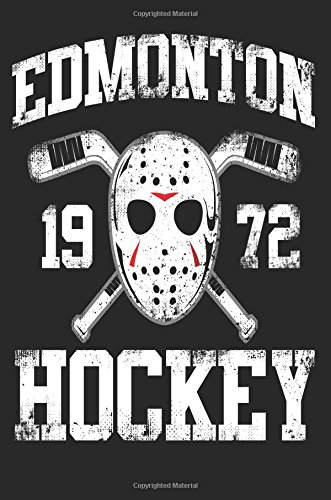 Edmonton 1972 Hockey: Lined Notebook Journal To Write In por My Lined Journal