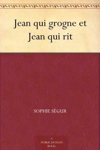 Couverture du livre Jean qui grogne et Jean qui rit