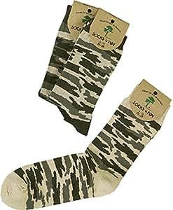 3 Paar Flecktarn Socken für Abenteuer lustige Jungen Größe 23/26