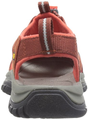 KEEN Womens Venice H2 Burnt Henna/Hot Coral, wear these in and out of the water for all day comfort Rosso/Grigio