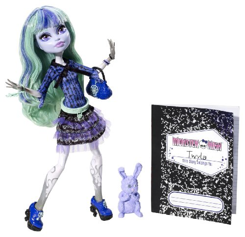 BBJ99 - 13 Wünsche Twyla, Puppe (Monster High Howleen)