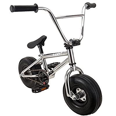 RayGar Bandit 2016 Chrome Mini BMX Bike - New