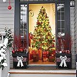 Jaysis Décoration De Noël Intérieur Autocollants Muraux Porte Fenêtres De Neige...