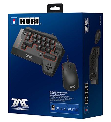 PS4 T.A.C FOUR (Tastatur & Maus für PS4/PS3/PC) -