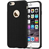 ROBMOB Heat Dissipation Hollow Net Thin Soft TPU Back Case Cover For Apple IPhone 6