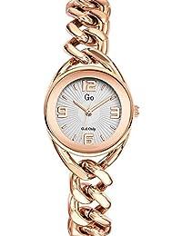 Go Girl Only–695013Damen-Armbanduhr 045J699Analog silber Armband Stahl Rosa