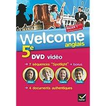 Welcome Anglais 5e éd. 2012 - DVD vidéo