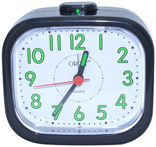 Orpat Beep Alarm Clock (Black, TBB-127)