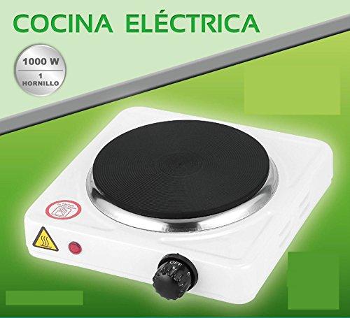 Foto de COCINA ELECTRICA HORNILLO 1000W 1 FUEGO PLACA ELECTRICO CAMPING GARANTIA