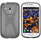 mumbi X-TPU Coque de protection pour Samsung Galaxy S3 mini TPU gel silicone transparent blanc