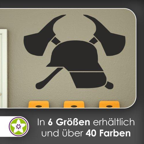 feuerwehr wandtattoo Feuerwehr Wandtattoo in 6 Größen - Wandaufkleber Wall Sticker