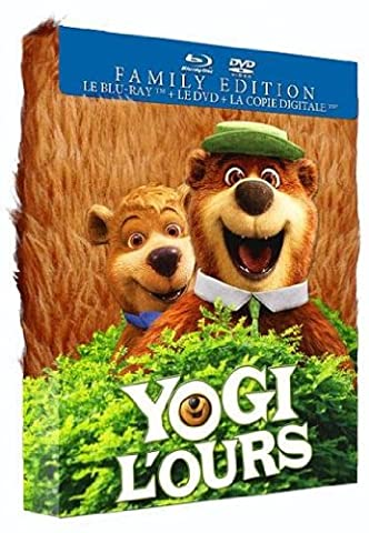 Yogi l'ours [Family Edition : Combo Blu-ray + DVD + Copie digitale]